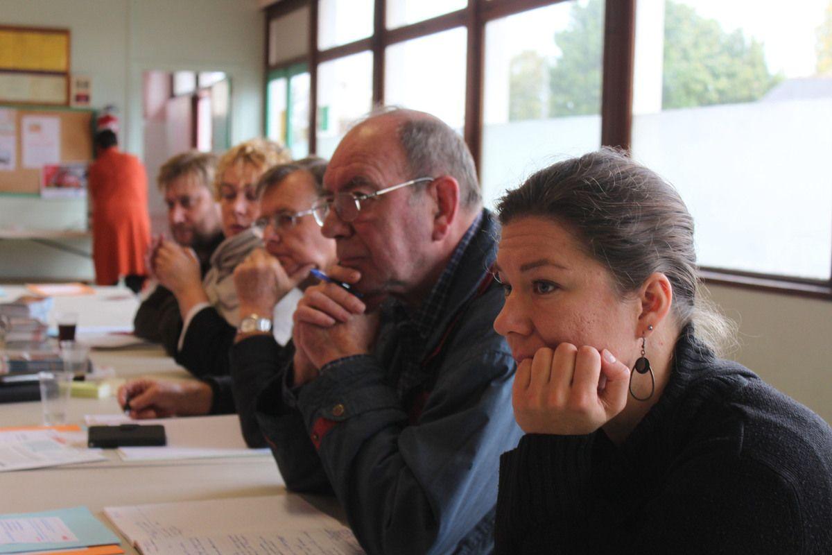 Conférence régionale du PCF Bretagne à Ploufragan ce samedi 15 octobre  (photos de Jean-Luc Le Calvez)