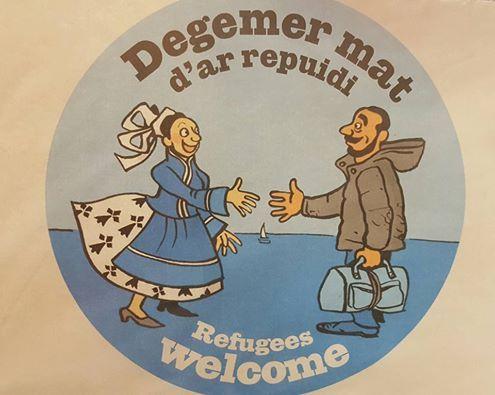Degemer mat... refugiés en Bretagne
