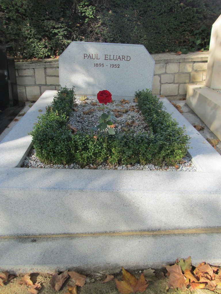 Tombe de Paul Eluard