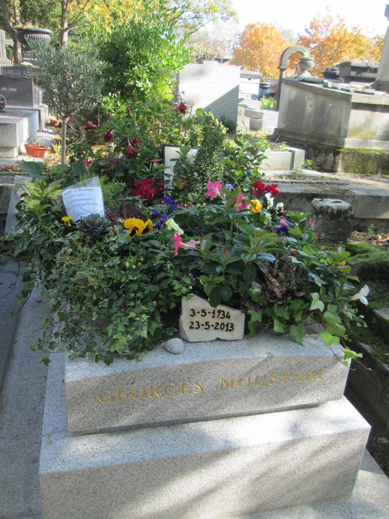 tombe de Georges Moustaki