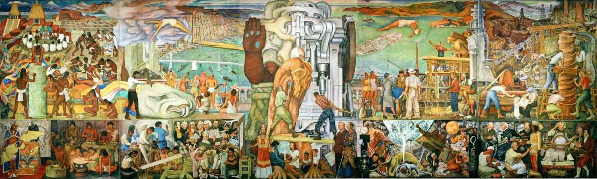 Pan American Unity (1940), Diego Rivera