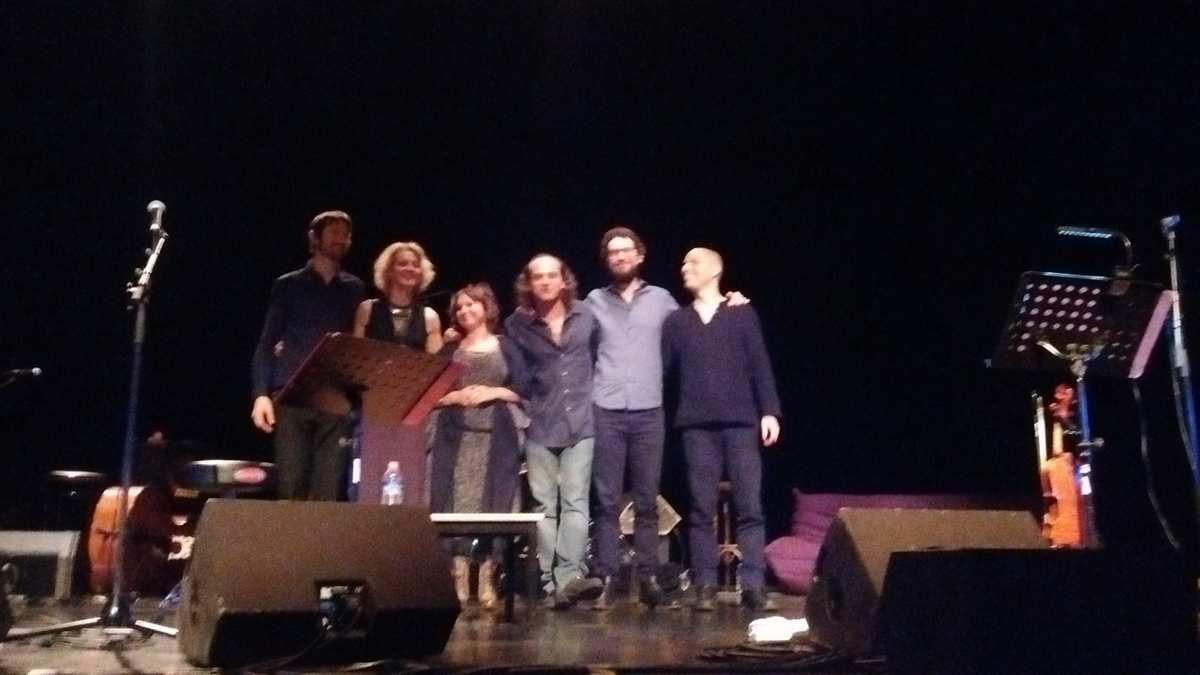 Jeudi 10 novembre au Roudour: Natacha Atlas, Samy Bishai et leur groupe de jazz oriental coaché par Ibrahim Maalouf, c'était géant!
