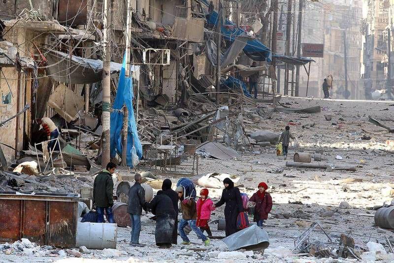 La fuite ou la mort: le choix terrible des Alepins de l'est (L'Orient le jour, Caroline Hayec - 29 novembre 2016)