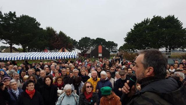 Billiers. 400 personnes réunies pour combattre la xénophobie (Ouest-France, 12 décembre 2016)