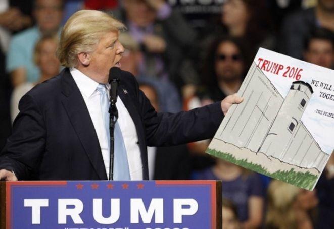 """Il a bien trumpé son monde: le candidat """"anti-système"""" réunit autour de lui un cabinet de milliardaires qui pèse autant d'argent que la fortune d'un tiers des américains ou des 60 Etats les moins riches du monde"""