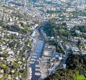 Morlaix, avec 14.837 habitants, reste la cinquième ville du Finistère, derrière Brest, Quimper, Concarneau et Landerneau.