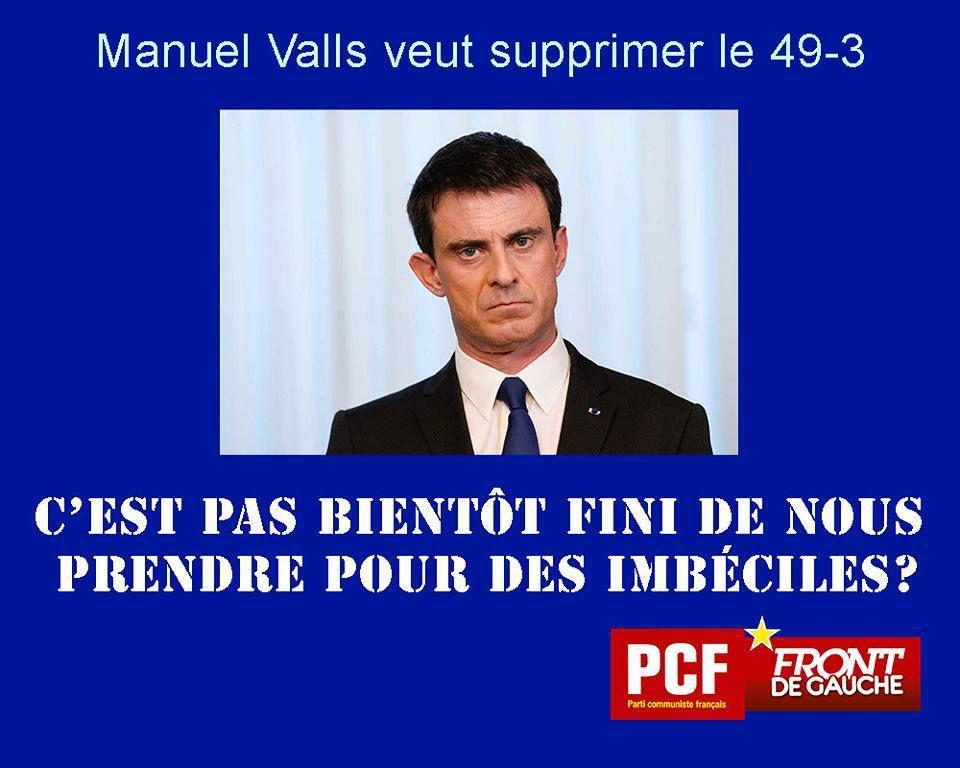 Combien en ont rêvé... Une gifle pour Manuel Valls à son arrivée en Bretagne à Lamballe grâce à un jeune homme plein d'applomb