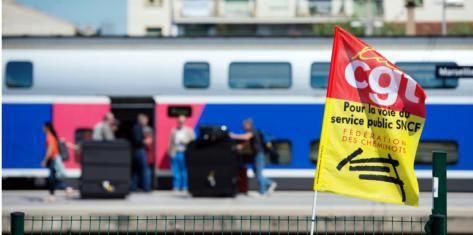 La CGT cheminots appelle à la grève le 2 février et élit un nouveau secrétaire général, Laurent Brun, à la place de Gilbert Garrel