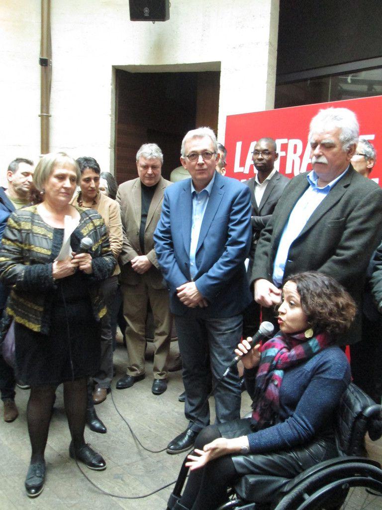 Fatima Khallouk candidate du PCF dans le Val de Marne