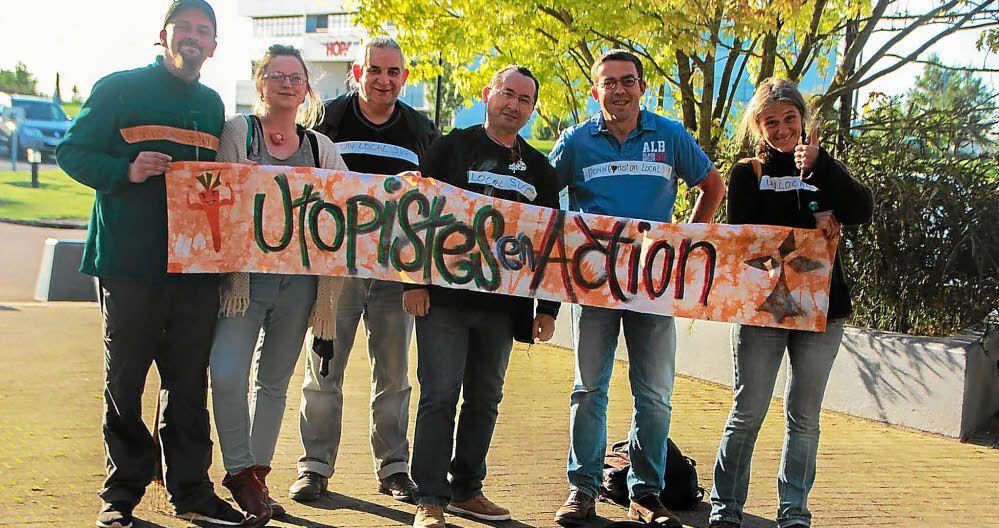 """""""Un local pour les Utopistes en action?"""": Question orale que Ismaël Dupont a déposé pour le Conseil de Communauté du lundi 13 février à Morlaix"""