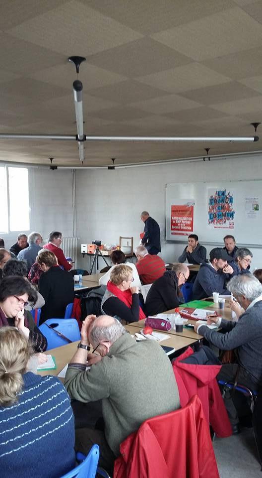 Lanester, 25 février: 60 communistes bretons réunis pour analyser et comparer les Programmes présidentiels et législatifs des formations politiques