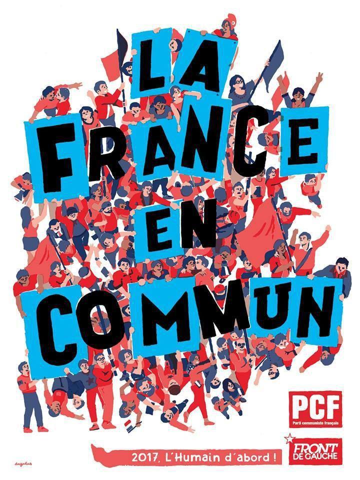 La France en commun (programme du Parti Communiste à acheter 2€ auprès des militants)