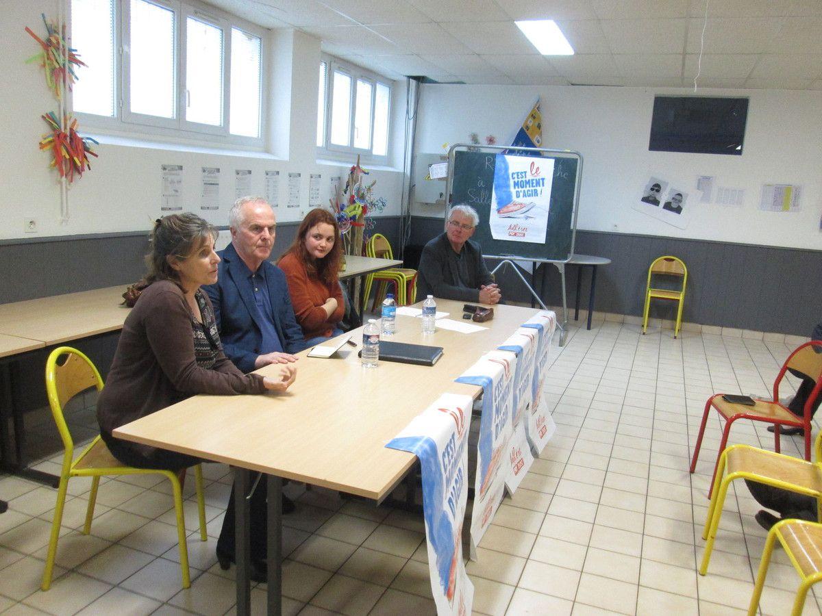 Brest - patronage Sanquer - 12 mai 2017 - Rencontre avec Raymond Mc Cartney (photo I. Dupont)