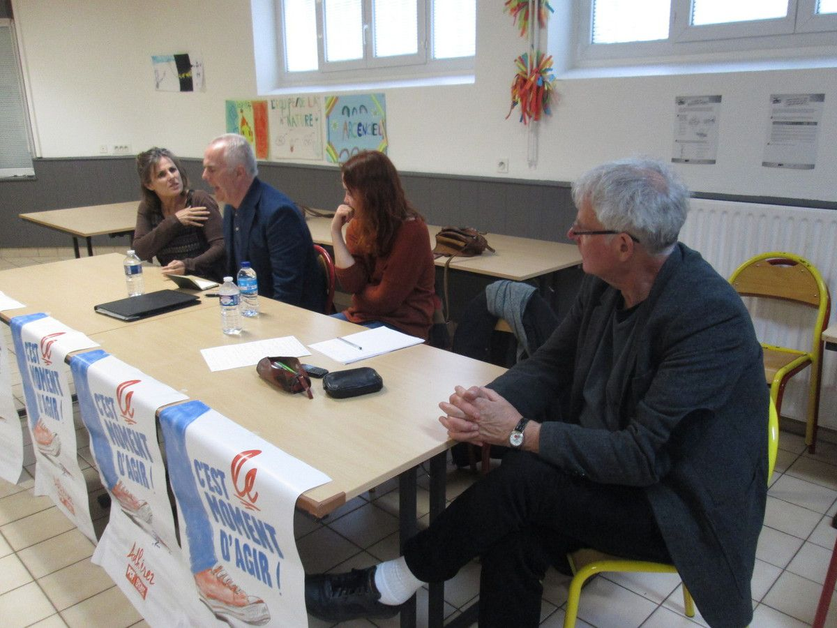Brest - patronage Sanquer - 12 mai 2017 - Rencontre avec Raymond Mc  (photo I. Dupont)