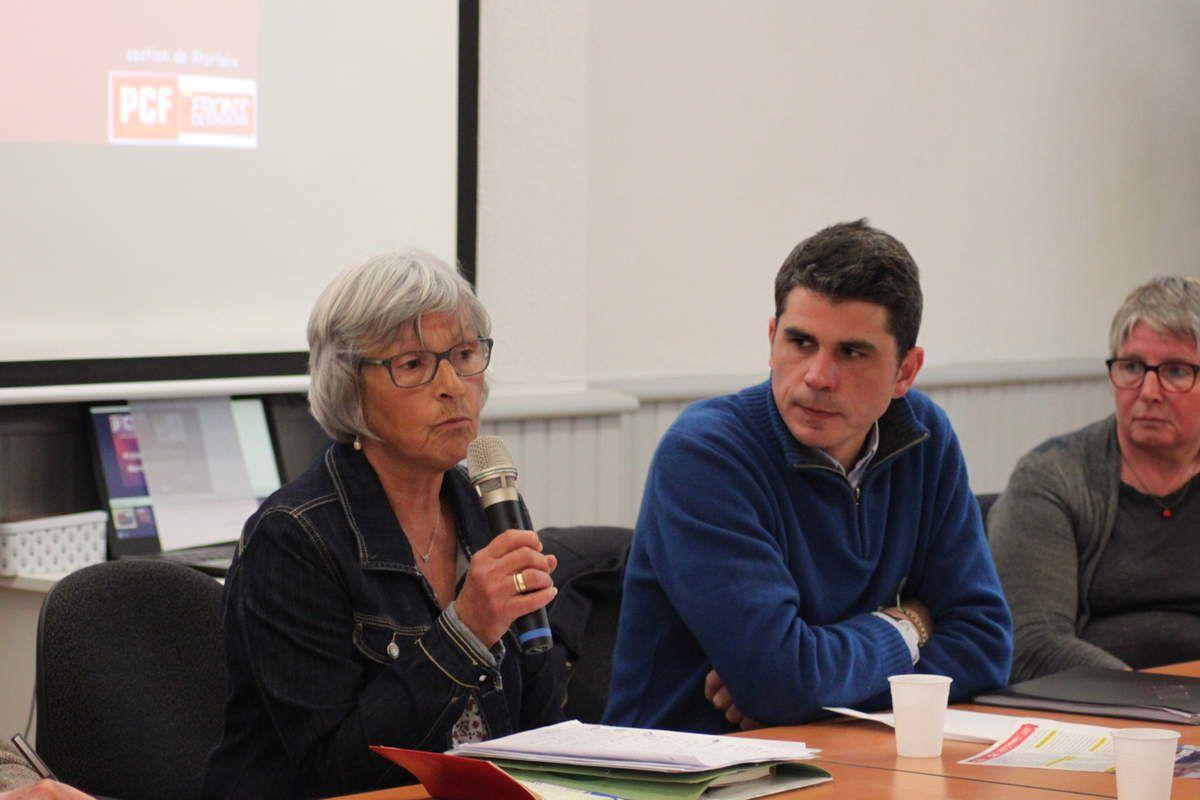 Martine Carn, Ismaël Dupont, Muriel Grimardias (photo Jean-Luc Le Calvez)