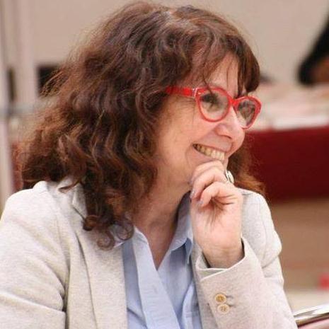 """Laurence Cohen, sénatrice PCF Val de Marne, vice-présidente de la commission des Affaires Sociales, marraine de la campagne """"Des vaccins sans aluminium"""""""