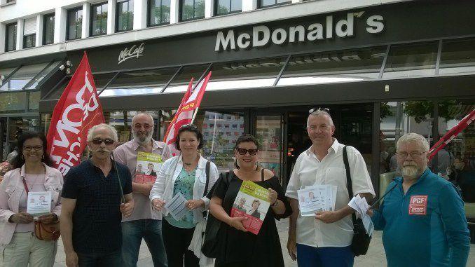 Mac Do, dénonciation de l'évasion fiscale: Vendredi 2 juin : les communistes morbihannais sur tous les fronts !