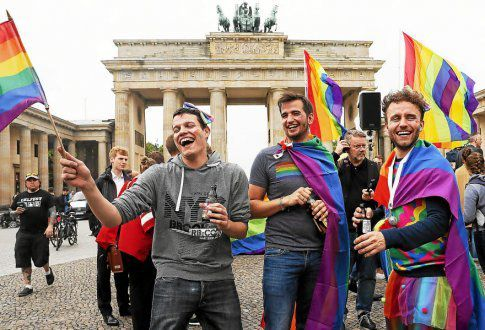 Mariage pour tous, l'Allemagne dit oui (Le Télégramme, 1er juillet 2017)