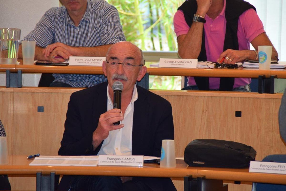 François Hamon le maire de St Martin s'est exprimé sur l'assainissement
