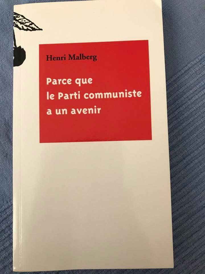 Décès d'un ancien dirigeant communiste de Paris, Henri Malberg