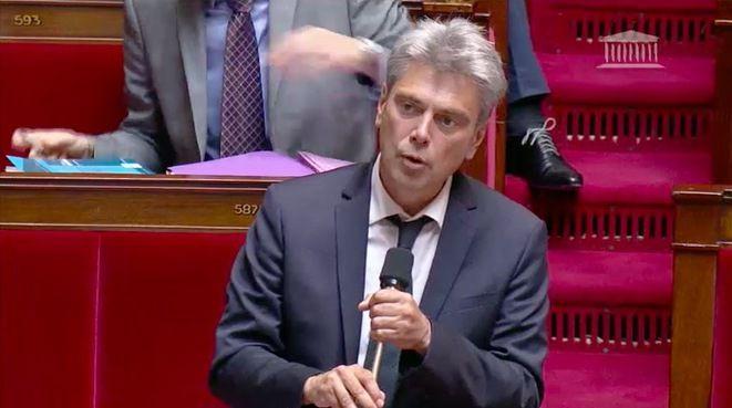 Le député communiste Sébastien Jumel