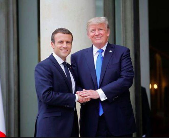 Poutine à Versailles, Trump au 14 juillet, Netanyahou pour commémorer la rafle du Vel d'Hiv: Macron ou les limites de la diplomatie des courbettes (Hubert Huertas, Médiapart - 14 juillet)