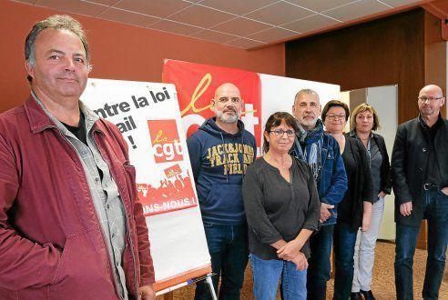 """CGT Santé. Plusieurs mobilisations programmées (Le Télégramme- Finistère , 21 septembre 2017) : """" La situation se dégrade partout! """""""