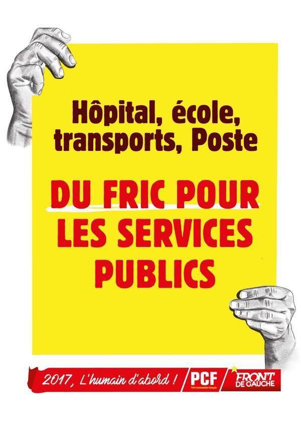 10 octobre 2017, journée de mobilisation dans la fonction publique: Appel à la mobilisation du PCF Finistère au côté des syndicats et des personnels et usagers de la fonction publique