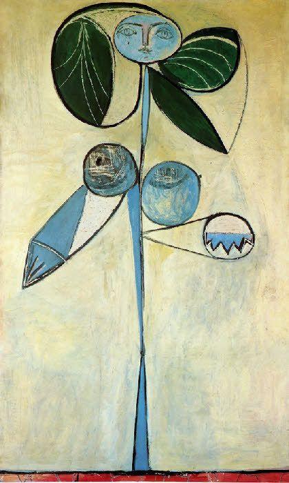 La Femme-Fleur, Picasso