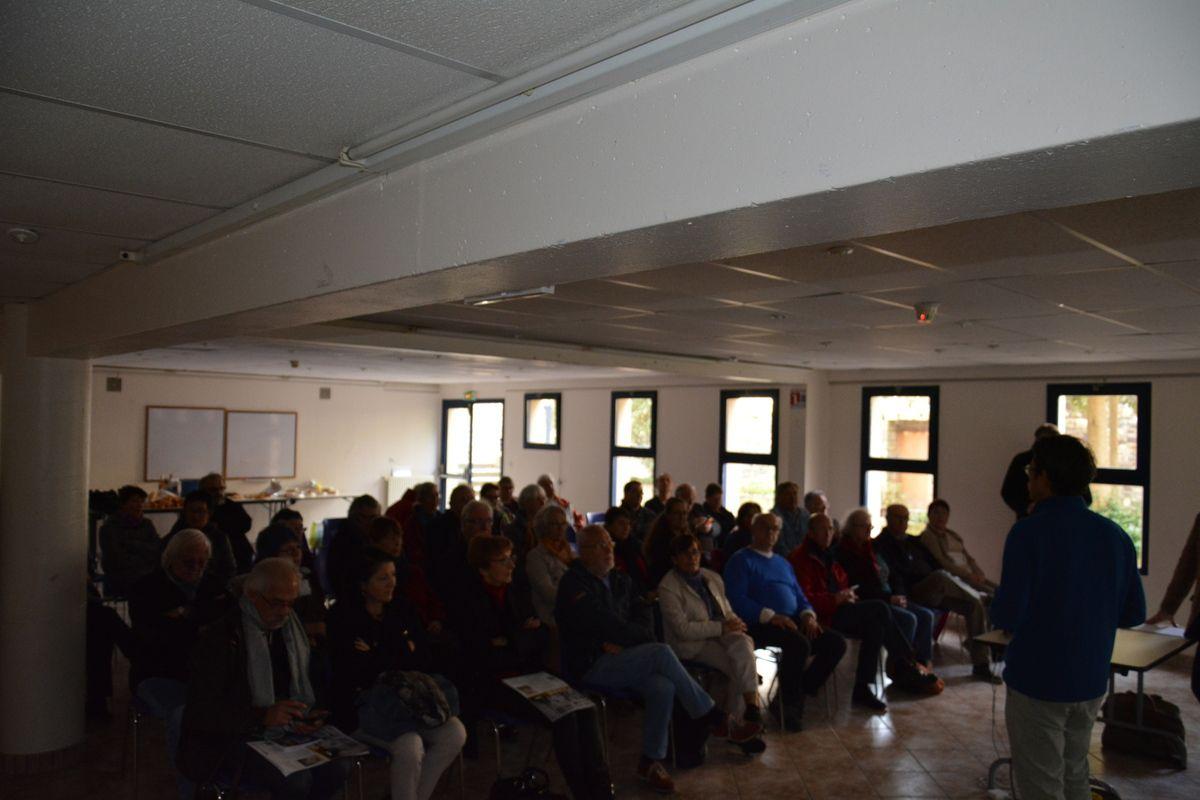 Expo Picasso à Landerneau: un grand moment d'éducation populaire avec le critique d'art Renaud Faroux pour les adhérents communistes à la clôture de l'exposition le 1er novembre 2017