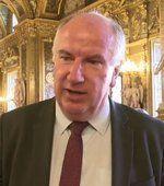 """Le sénateur communiste Eric Bocquet, auteur avec Alain Bocquet de """"Sans domicile Fisc"""""""