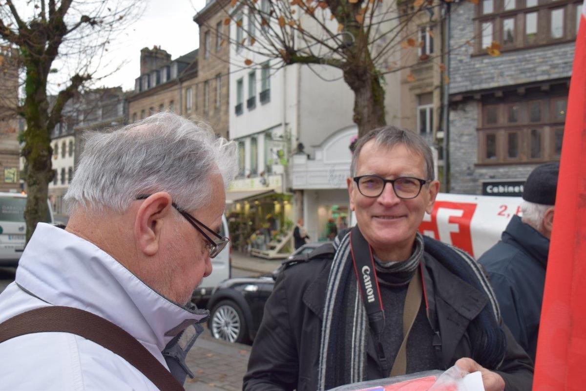 Roger Héré et Jean-Luc Le Calvez