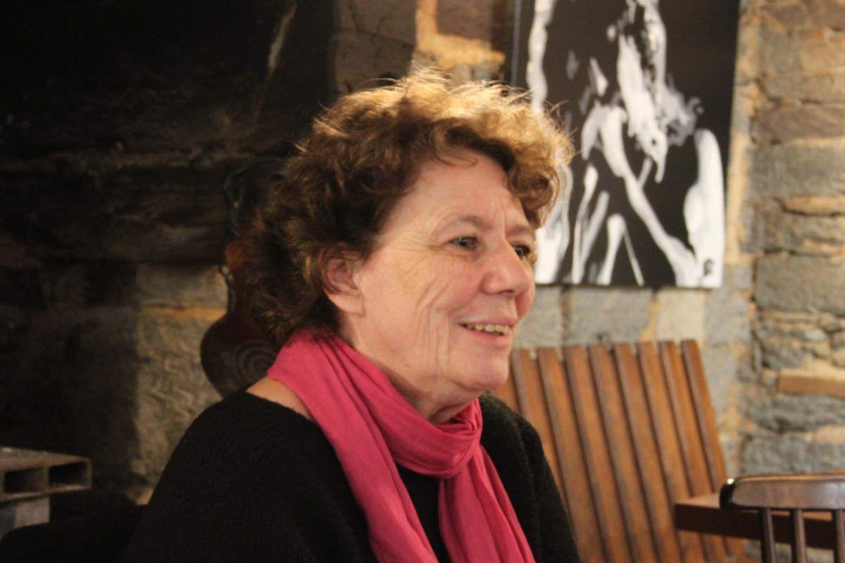 photo de Maryse le Roux par Jean-Luc Le Calvez