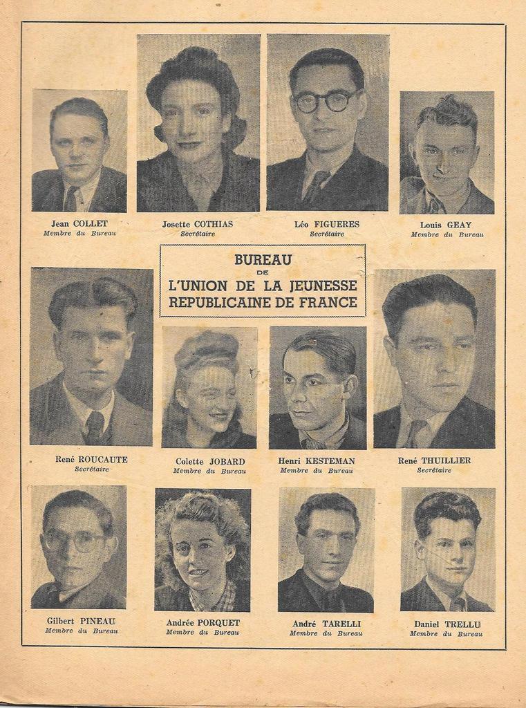 Notre jeunesse, Avril 1945: congrès des Jeunesses Communistes (Archives Pierre Le Rose)
