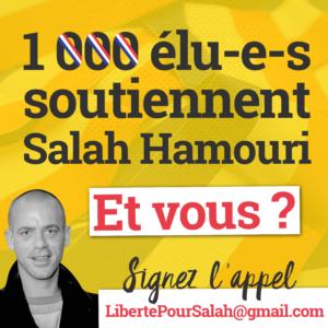 152 élus finistériens soutiennent Salah Hamouri et demandent à Macron d'oeuvrer pour sa libération!