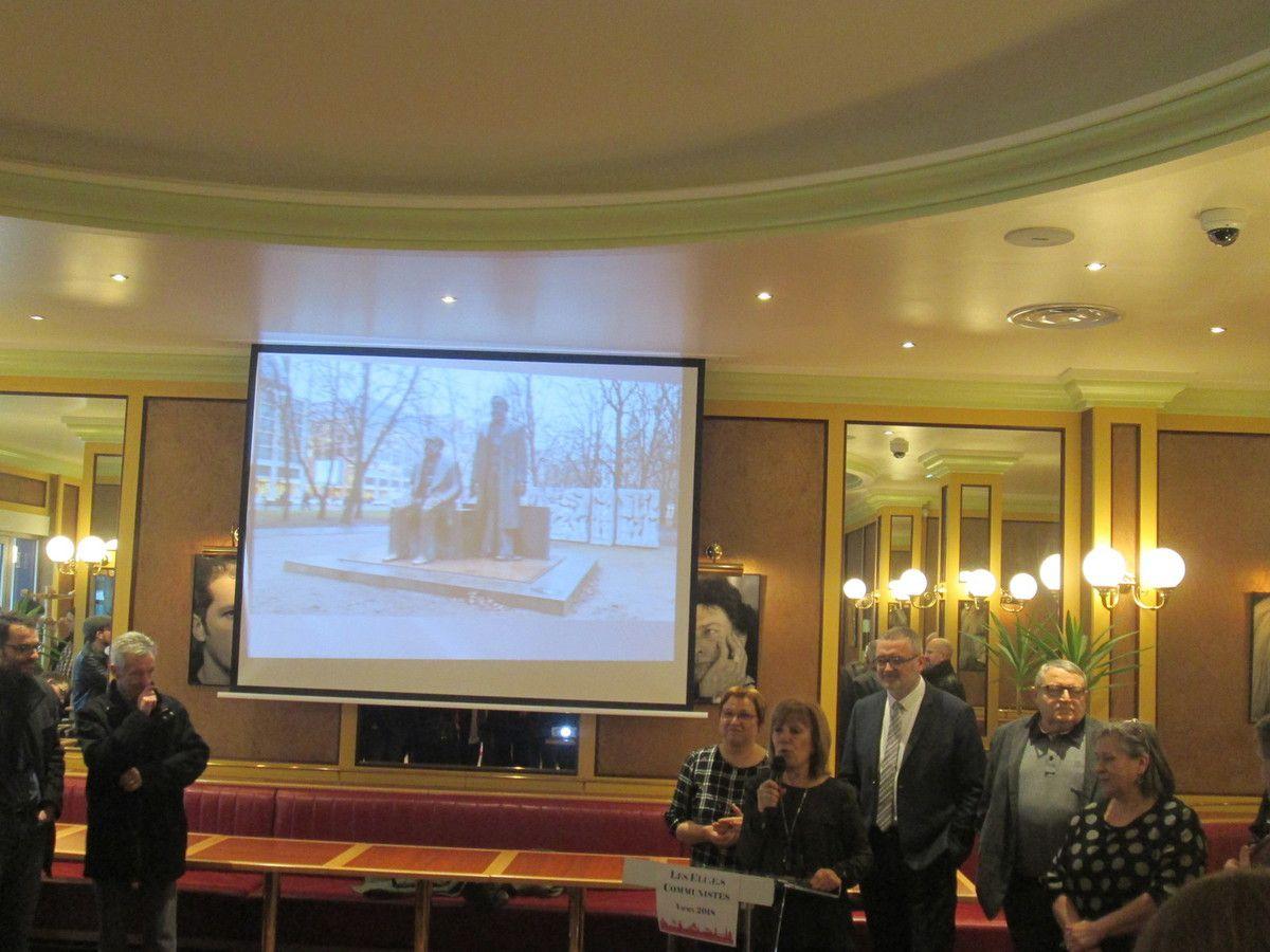 Voeux des élus communistes brestois et du Relecq-Kerhuon au Vauban ce samedi 13 janvier: un beau moment politique!
