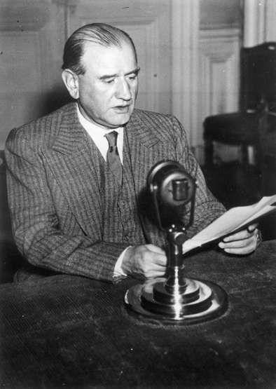 Edouard Daladier, septembre 1939