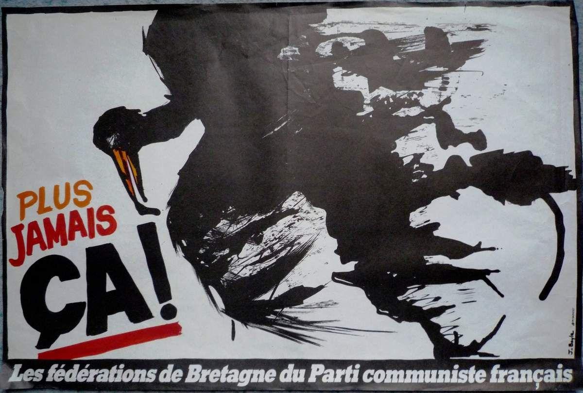 Amoco Cadiz: ce qu'en disait le PCF en mars 1978 - des documents collector des archives de Jean-Yvon Ollivier !