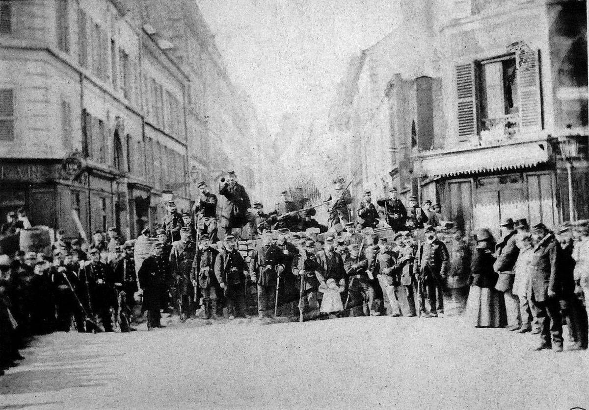18 mars 1871: Début du soulèvement de la Commune de Paris: un gouvernement et un mouvement émancipateur par le Peuple, pour le Peuple!