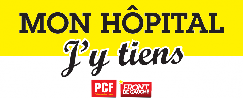 La santé, notre bien commun: les militants communistes distribuaient ce 21 mars la lettre des parlementaires PCF pour la défense de l'hôpital public