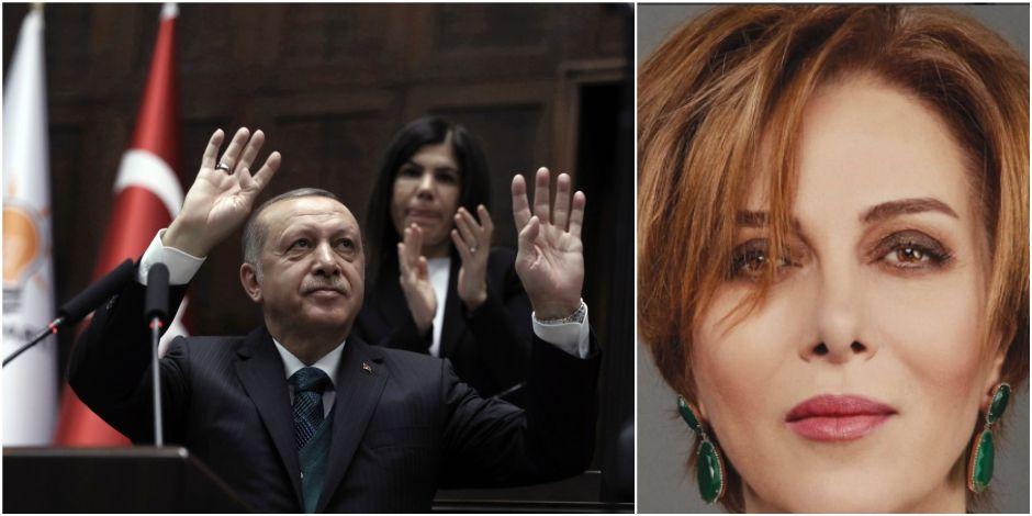 """Une célèbre actrice et chanteuse turque condamnée à dix mois de prison pour """"insulte"""" à Erdogan (La Libre Belgique)"""