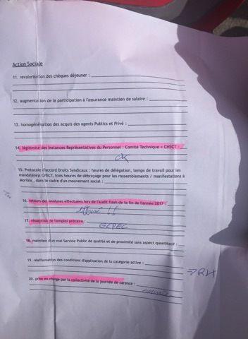 De 5h à 19h ce mardi 3 avril 2018, la grève des agents de collecte des ordures ménagères de Morlaix-Communauté: 95% de grévistes, de nombreuses revendications satisfaites