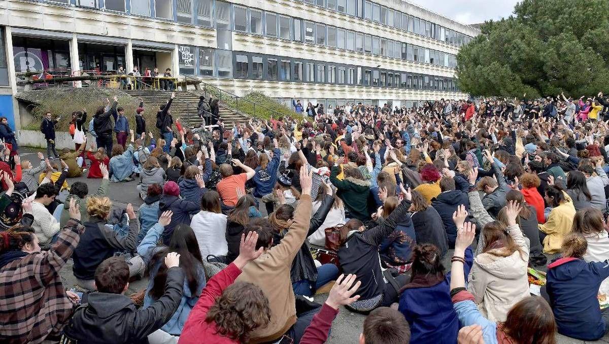 Université de Rennes 2. Les étudiants votent la reconduction du blocage jusqu'à lundi (Ouest-France)