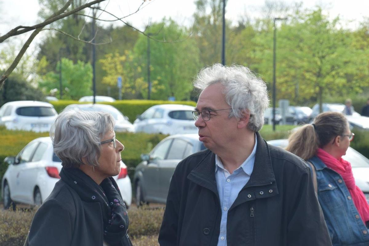 Martine Carn et Marc Madec (photo Pierre-Yvon Boisnard)