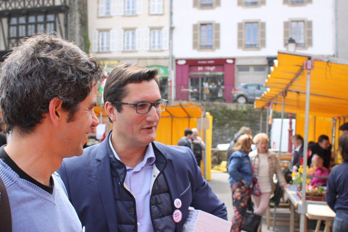 Olivier DARTIGOLLES et Ismaël DUPONT