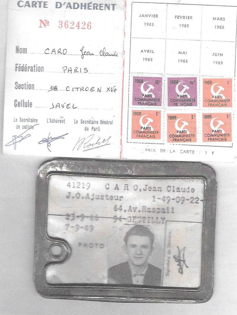 Archives Jean-Claude Caro