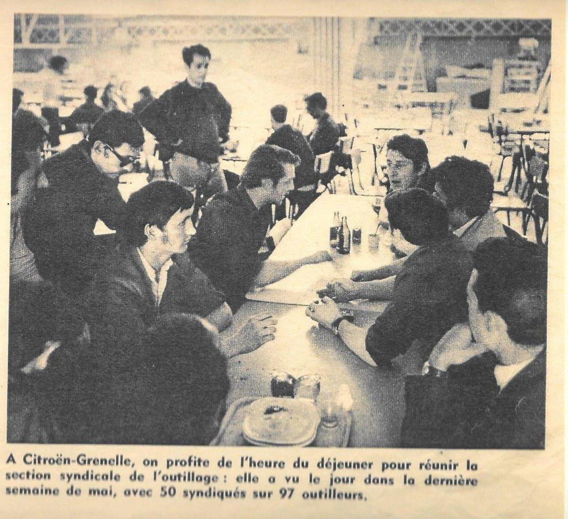La Vie Ouvrière - le conflit social chez Citröen en mai-juin 1968
