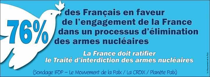 Le désarmement nucléaire, c'est économe - 25 milliards d'euros d'ici 5 ans iront à la modernisation de nos armes de destruction massive