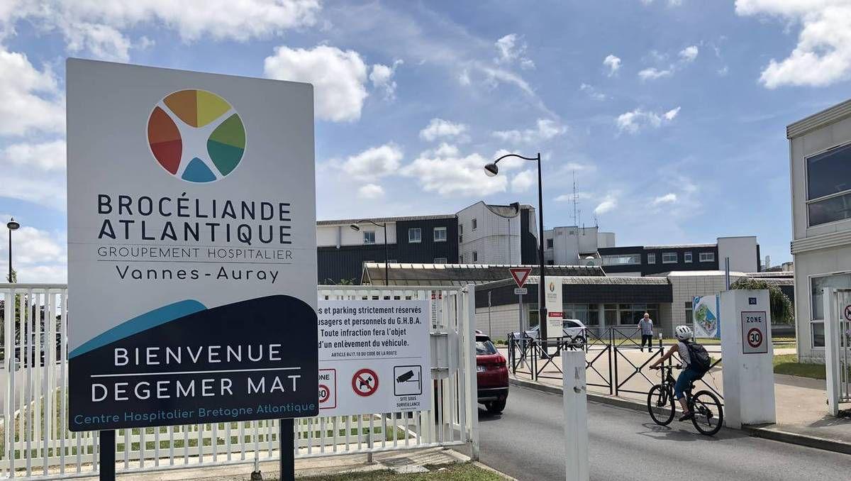 Vannes-Auray, par manque de personnel, l'hôpital ferme un service (Ouest-France, 8 août 2018)