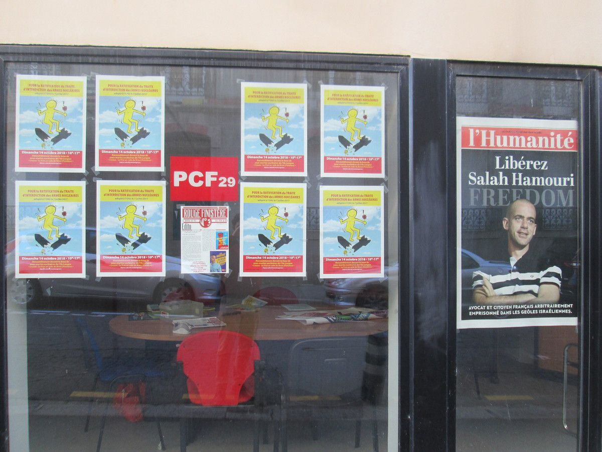 La fédération du PCF, 5 rue Henri Moreau à Brest